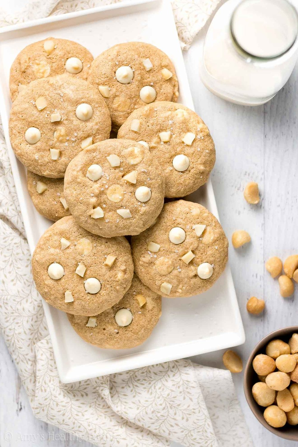 Macadamia nuts are known as an ingredient in making nut cookies or white chocolate due to its naturally sweet taste.