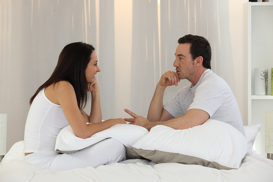 Listening to your partner talking and facing them is a sign of respect to your partner as you give him or her your undivided attention.