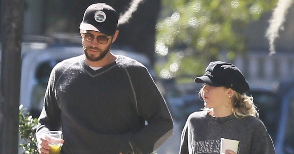 Miley and Liam look forward to spending their Holidays together.