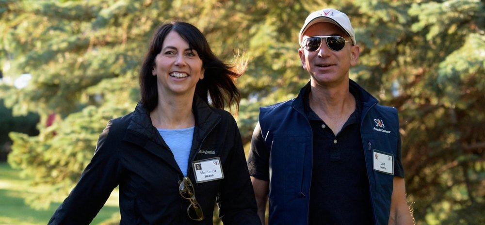 Forbes hailed Jeff and MacKenzie Bezos as the richest couple in the world.
