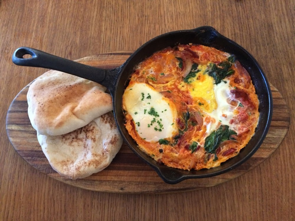 Indulge in the exotic Mediterranean cuisine as you eat at this prestigious restaurant.