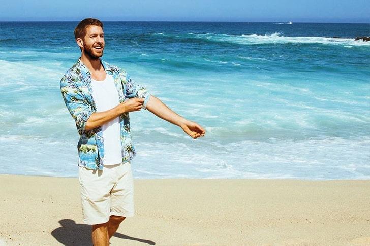 Calvin Harris – Has Perfect Work-life Balance At Ibiza