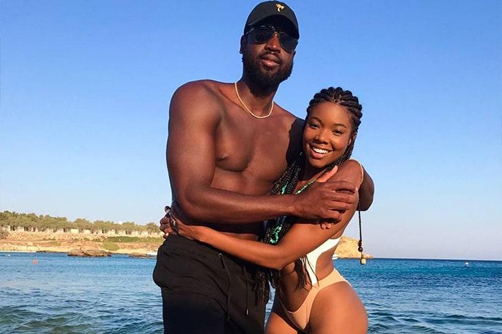 Gabrielle Union & Dwyane Wade – Celebrated Their Anniversary In Mykonos