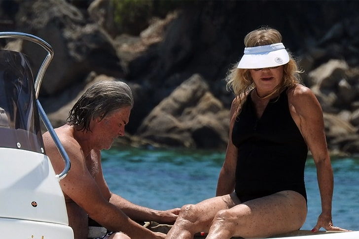 Goldie Hawn & Kurt Russell – Spent Their Summer Vacation In Greece
