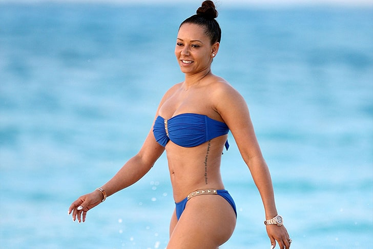 Mel B – Relaxes & Unwinds At Turks and Caicos