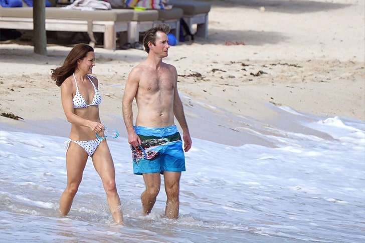 Pippa Middleton – Spends Her Holidays In St. Barts