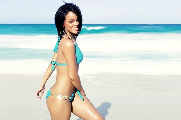 Rihanna – Loves To Vacation At Her Hometown of Barbados