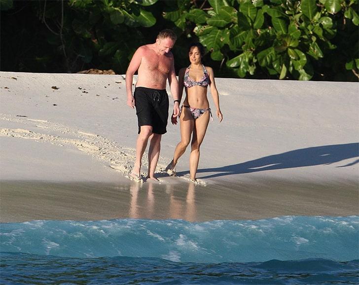Salma Hayek & Francois-Henri Pinault – Spent Their Romantic Honeymoon In The Seychelles