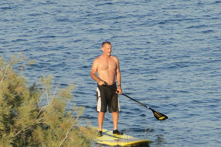 Tom Hanks – Went For A Romantic Trip In A Remote Island In Greece