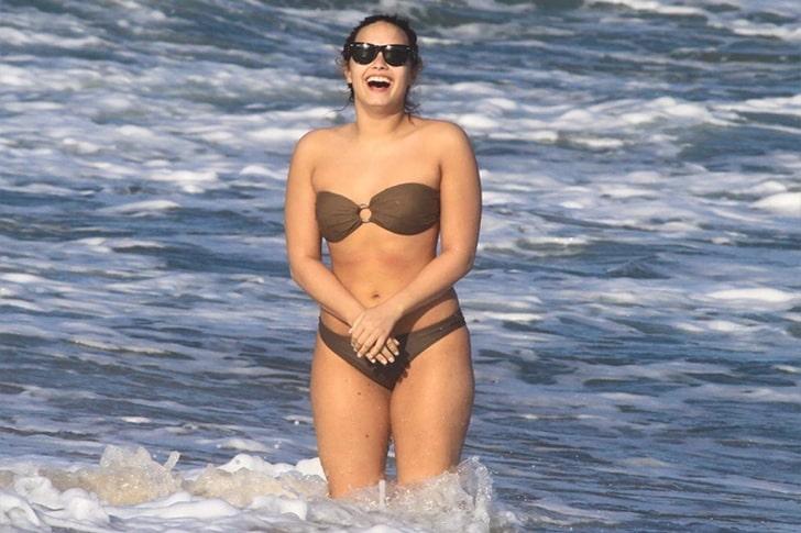 Demi Lovato – Swimming, Soccer & Socializing In Rio De Janeiro, Brazil