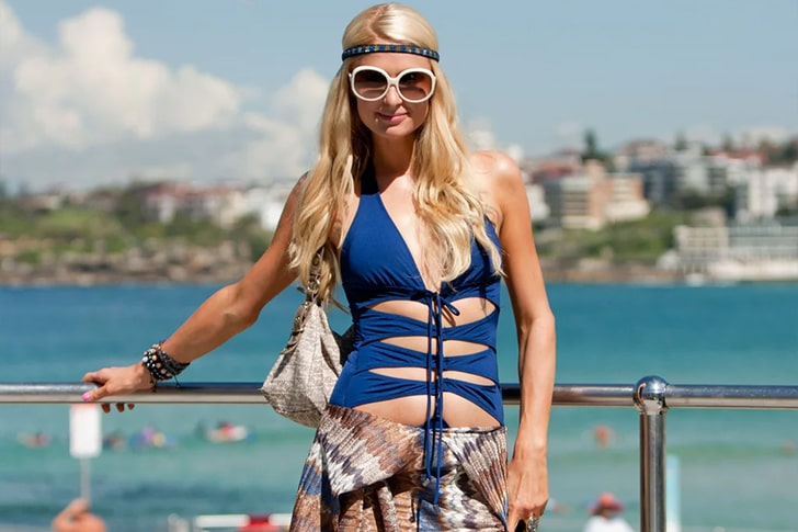 Paris Hilton, DJ Afrojack And Friends – Partying At Bondi Beach, Australia