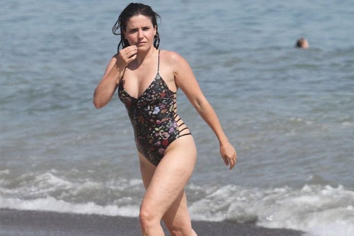 Sophia Bush – Swimming In Malibu, California